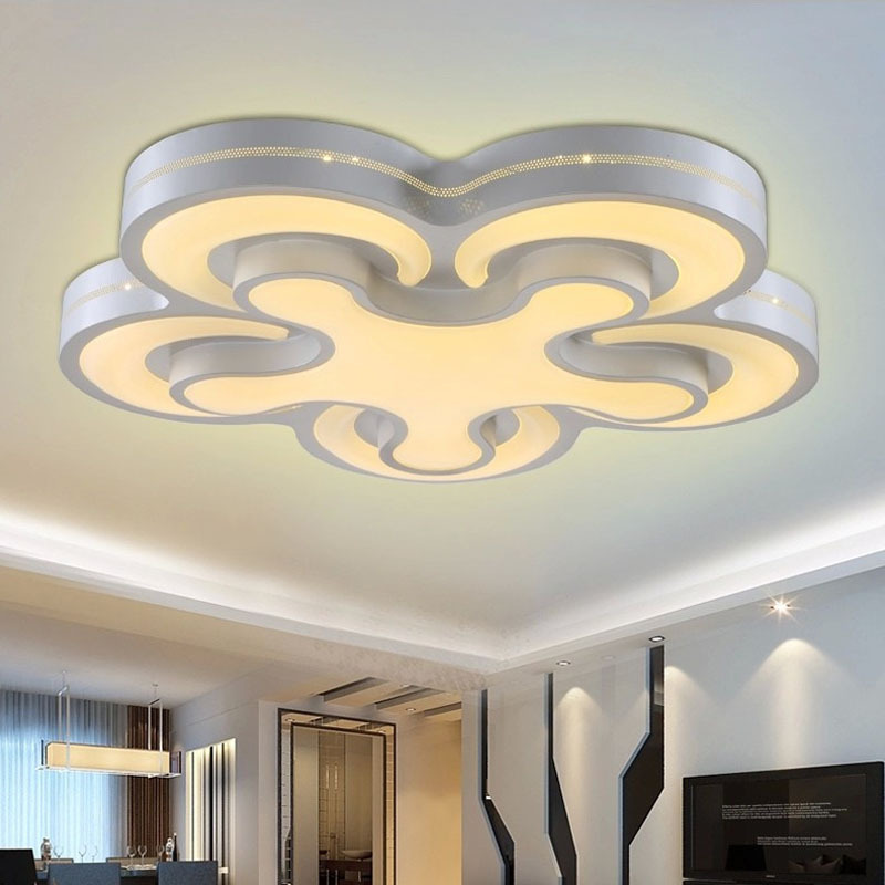 Ceiling Lamp Installation Cost: Aliexpress.com : Buy NEW Acrylic 64W Ceiling Light Modern