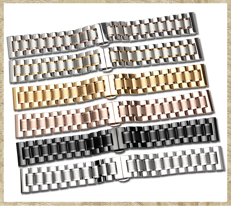 OTEX Men's Watch Bands For Tissot Strip Steel Watch Strap High Quality Watchband Watches Accessories