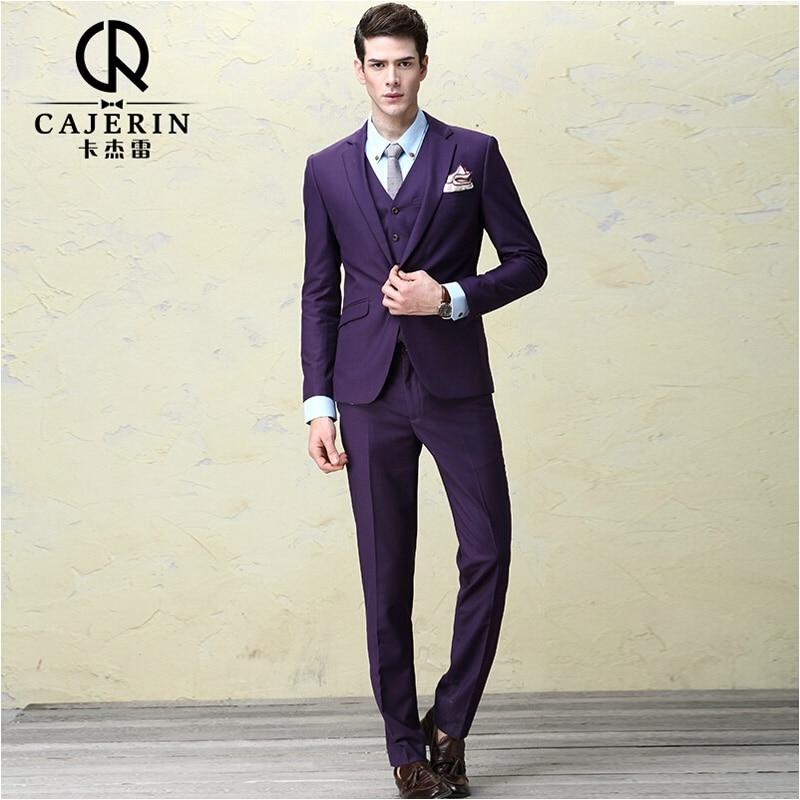 Popular Slim Fit Purple Suit-Buy Cheap Slim Fit Purple Suit lots