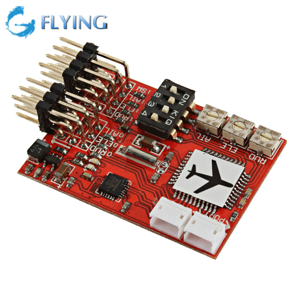 High Precision M6 Flight Controller Digital Gyro for RC Fixed-wing Airplane V-tail Model Plane FPV
