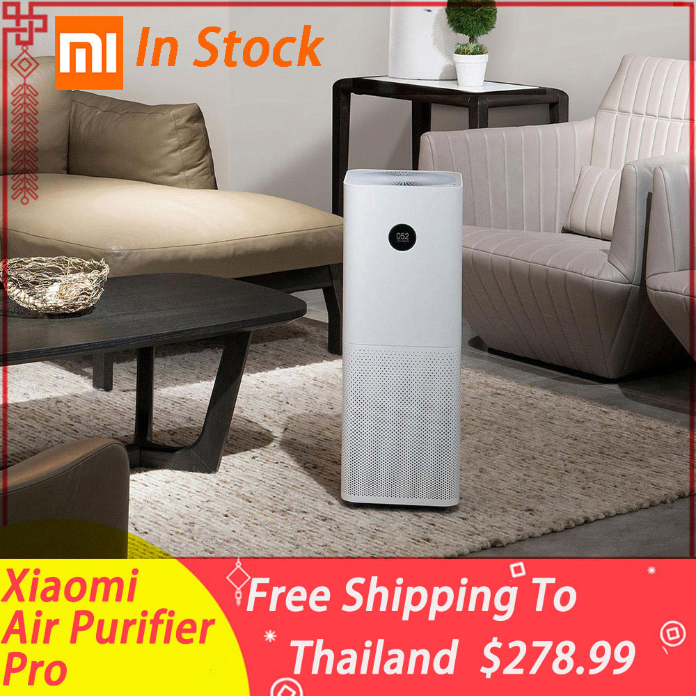 01 Mi Air Purifier Pro OLED Air Cleaner 500m3/h Wireless Smartphone APP Control Home Intelligent Air Purifiers Hepa Filter