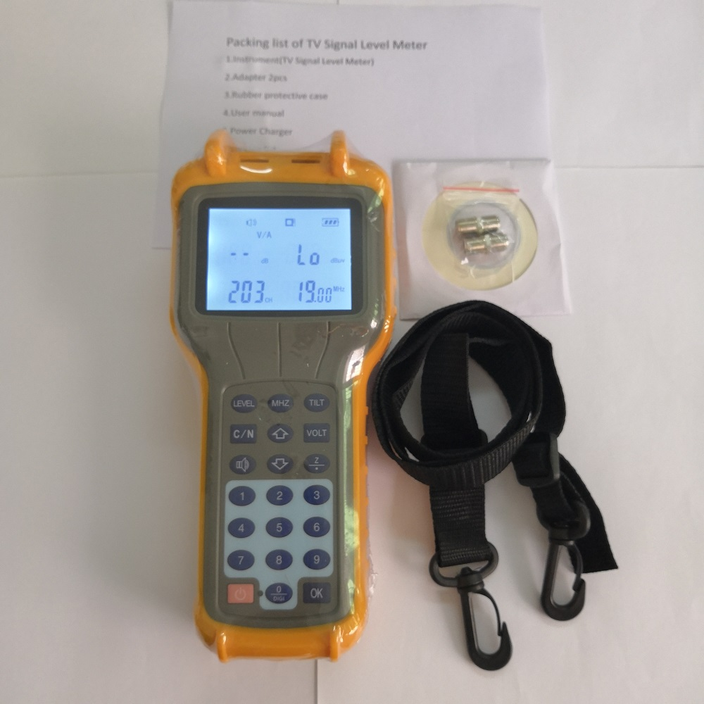 Free Shipping Ruiyan RY-S110 CATV Signal Level Meter DB Tester 47-870MHz Free Shipping Ruiyan RY-S110 CATV Signal Level Meter DB Tester 47-870MHz