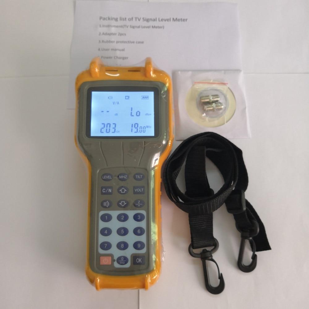 Free Shipping Ruiyan RY-S110 CATV Signal Level Meter DB Tester 47-870MHz