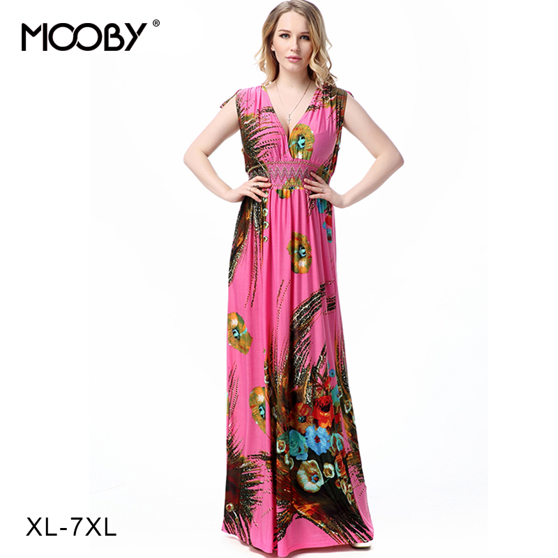 2016 autumn women dress stretch chinese print dress elegant long