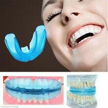1 шт зуб ортодонтическое зубов бытовой тренер выравнивания подтяжки мундштуки для ПРО зубов прямо/выравнивание зубов уход новый