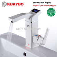 3500W Electric Water Heater Tap Instant Hot Water Hot Water Electric Faucet No Tank Heating Bathroom Kitchen Faucet