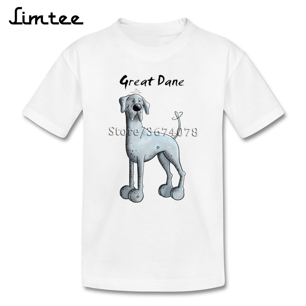 2e974c0c Funny Great Dane T shirts For Girl Boys Normal 4T 8T T Shirts Children 100%  Cotton Short Sleeve Shirts Baby-in T-Shirts from Mother & Kids on  Aliexpress.com ...