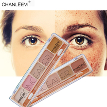 5 Color Camouflage Cream High Coverage Concealer Palette Skin Tone Color Corrector Cover Eyes Dark Circle Face Freckle Spots