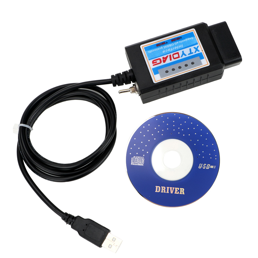 LEEPEE For Forscan <font><b>OBD2</b></font> Diagnostic Scanner <font><b>ELM327</b></font> <font><b>V1.5</b></font> <font><b>USB</b></font> Switch ELM 327 CAN /MS CAN 100% PIC18F25K80 Chip image