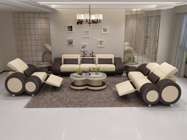 Hot Sale Latest Design Furniture Living Room Sofa Set Designs In