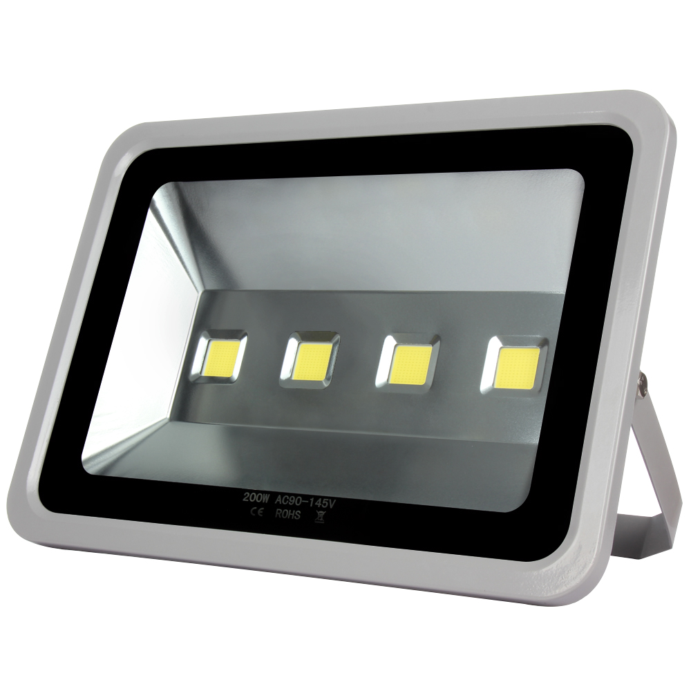 1pcs Led Spotlight 200W Waterproof Outdoor lighting Led Floodlight Warm/Cold White Led Flood light Replace Halogen lamp