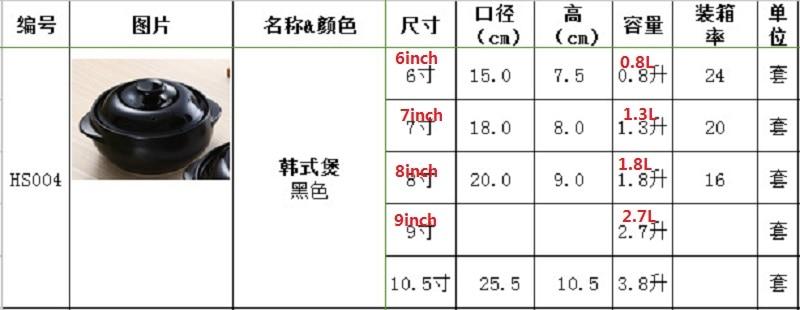 Coreano calor caçarola-resistente dois orelha macarrão de