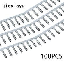 100 sztuk ECU małe końcówki zaciskane na przewód naprawczy N 907 647 01 000 979 009 E terminal tempomatu ECU dla terminala Skoda tanie tanio Kable Adaptery i gniazda copper jiexiayu 0 1kg terminal Seat crimp pins 12 v 13 8mm X 1 7mm