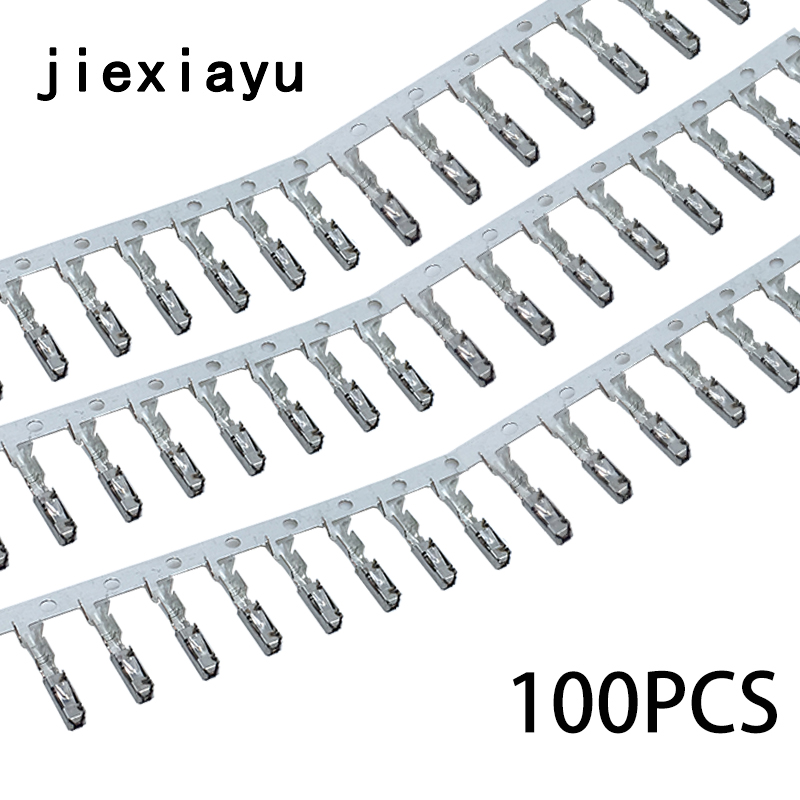 100PCS ECU small terminal Seat crimp pins for repair wire N 907 647 01 000 979 009 E ECU cruise terminal for Skoda Terminal