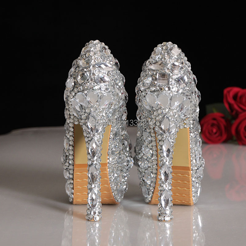 Aliexpress.com : Buy Elegant Genuine Leather Round Toe Women High ...