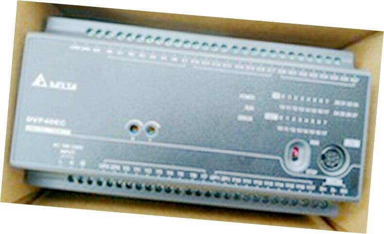 New Original DVP40EC00T3 Delta PLC EC3 series 100-240VAC 24DI 24DO Transistor output new original dvp24xn11t delta plc plc 24 point 24do transistor output extension module