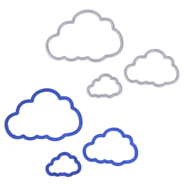 aliexpress com buy 3pcs lot clouds metal cutting dies cuts for diy