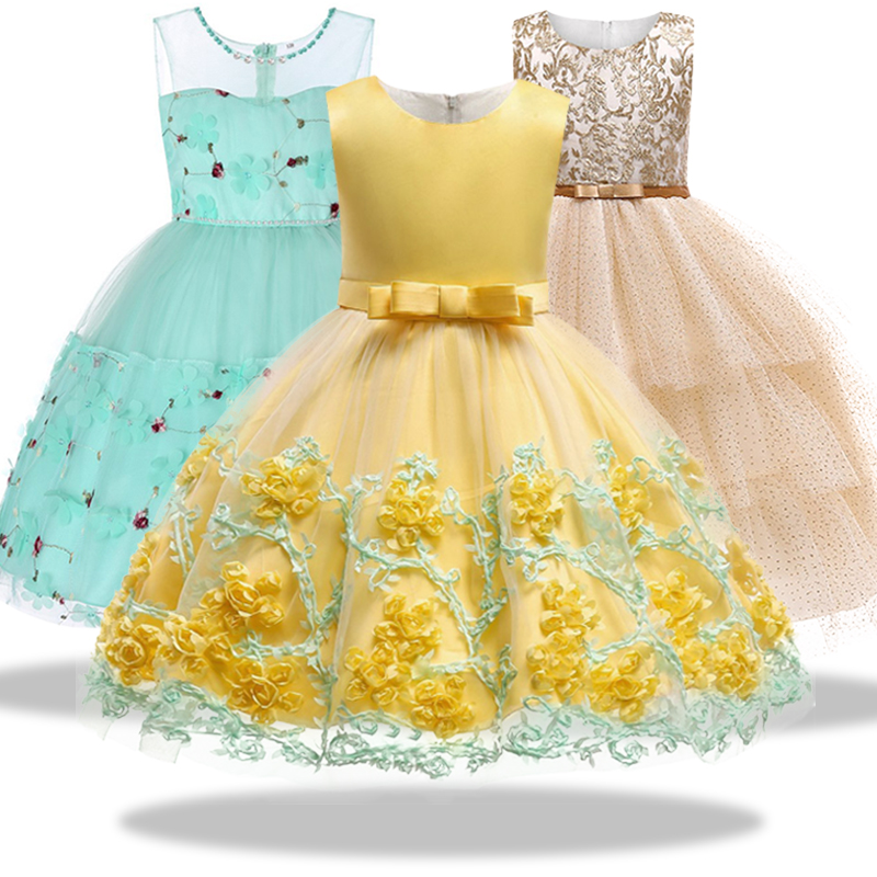 Buy puffy dresses for kid and get free shipping on AliExpress.com 9988cff2c998