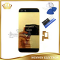100% Guarantee Chassis Back Cover for iphone 5S 24k Gold Housing Middle Frame Battery Door with Card tray+Buttons+Tools