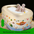 New baby swimming pool heat preservation thickening infant bath Tub inflatable bathtub baby Swimming pool with free Gift Pack