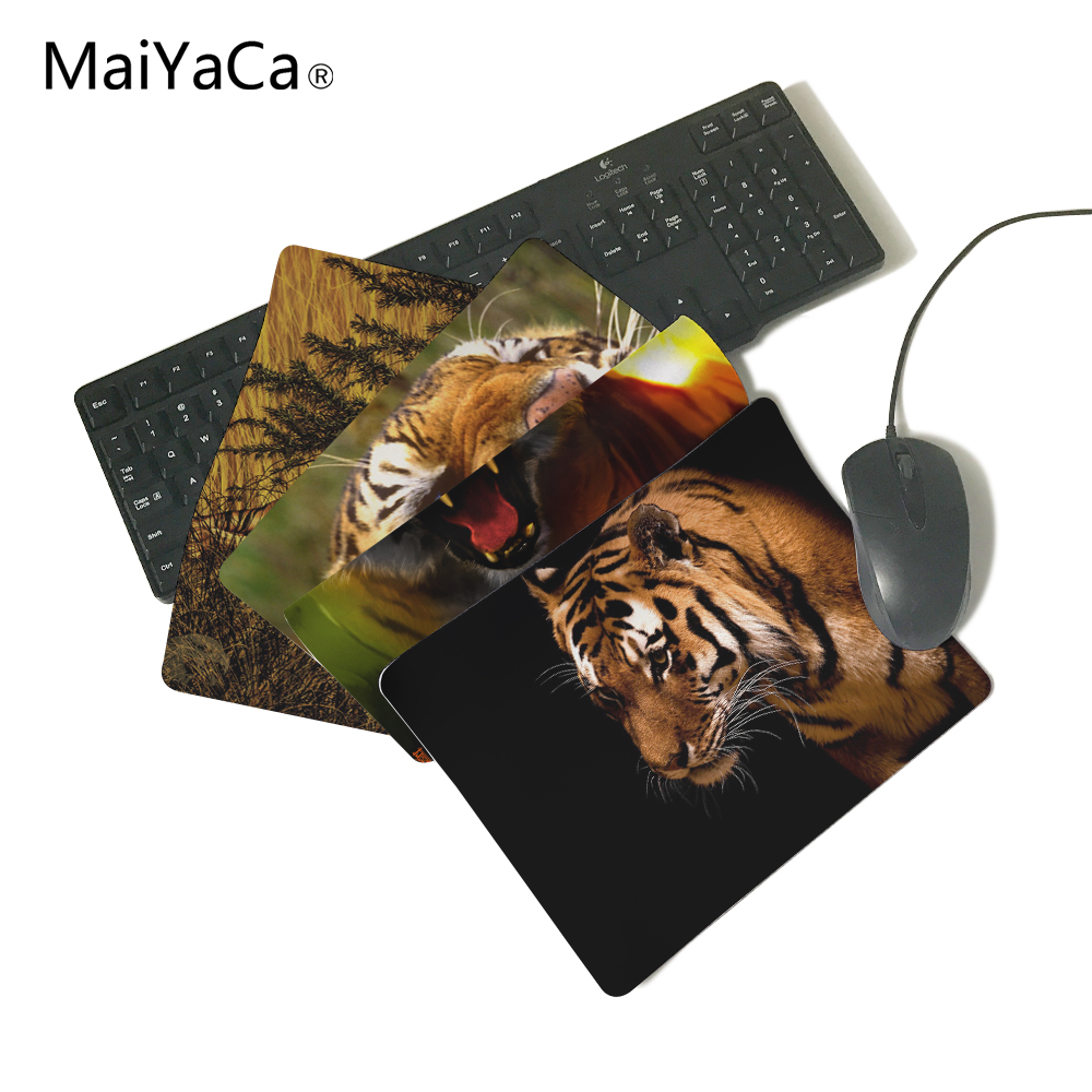 Bengal Tiger Gaming Gamer Mice Mause Mouse Pad New Rubber Non-Skid Rubber Pad