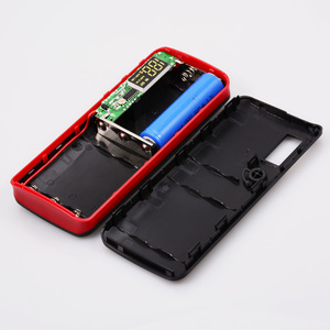 Image 5 - 18650 Power Bank 10000mah (No Battery) DIY Case Phone Charge Box LED Flashlight Poverbank 3 USB 5x18650 Powerbank Pover Bank