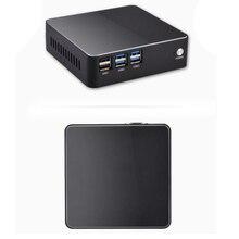 цена на metal case NUC Intel Core i5 6200U Mini PC Windows10 Computer DDR4 SSD support 2.5 HDD HDMI VGA dual display 4K windows10 tv box