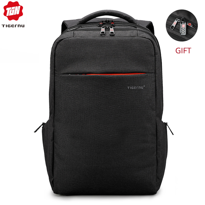 Tigernu Casual Waterproof Anti Theft Backpack for Men Business Travel Large Laptop Male Backpack School Bag