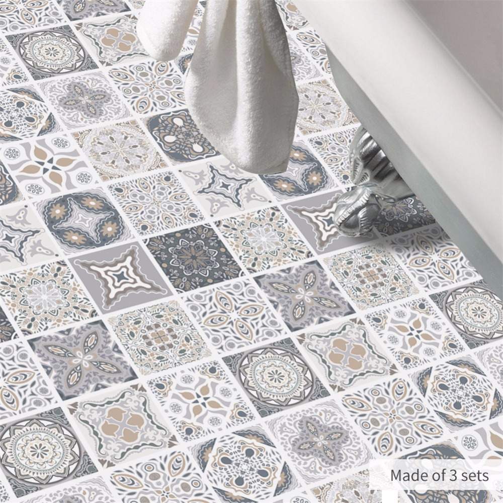 Aliexpress.com : Buy Yanqiao Portuguese Tiles Floor Sticker Anti ...