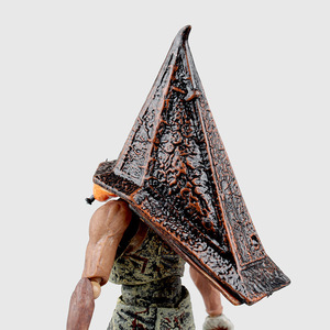 Image 5 - Hot Movie Game Figma SP 055 Red Pyramid Thing Pyramid Head Silent Hill 2 Action Figure 15CM