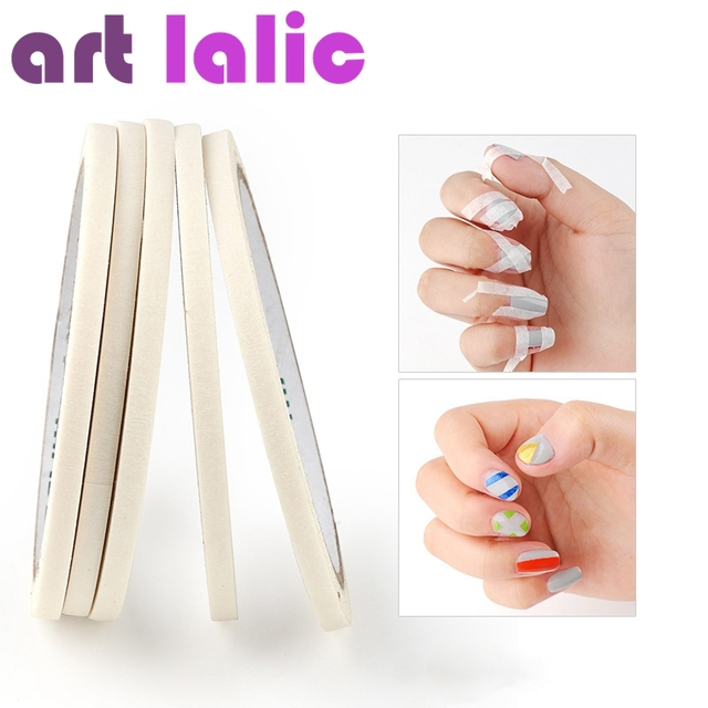 2018 New 1pcs French Manicure Nail Art Tips Decoration Creative Nail ...