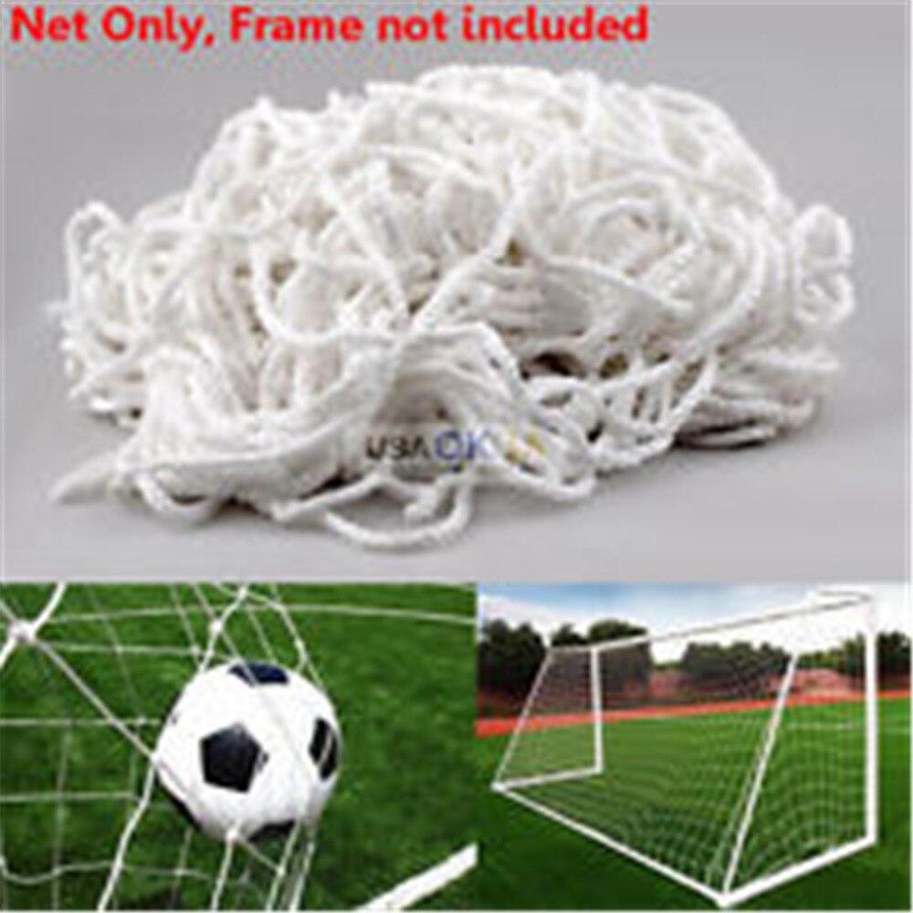 6 x 4ft polypropylene Football Soccer Goal Post Net For Kids Outdoor ...