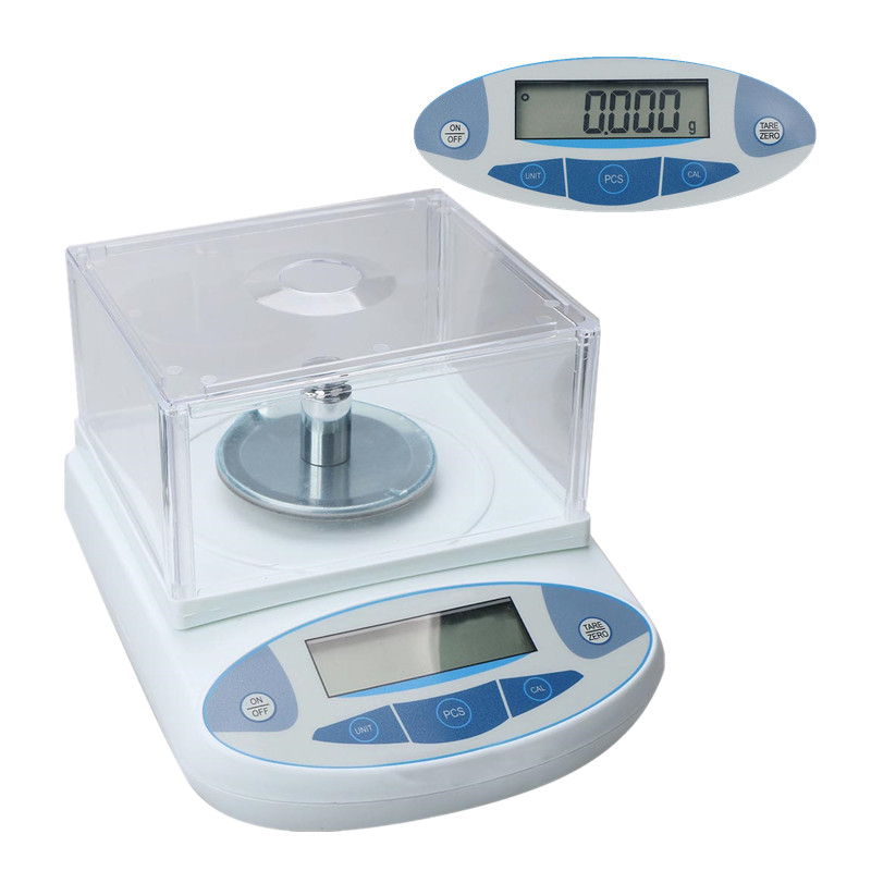 Weighing Scales Hot Sale 200 x 0.001g 1mg Lab Analytical Balance Digital Precision Scale 100g 0 1g lab balance pallet balance plate rack scales mechanical scales students scales for pharmaceuticals with weight tweezer