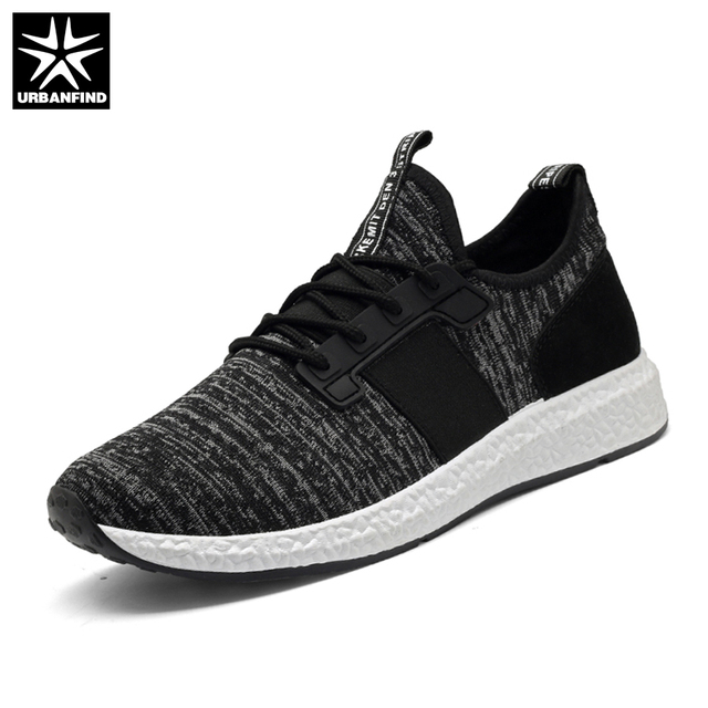 Breathable Lace Up Casual Shoes - Black 44 cheap fashionable dFGKrdZQ4