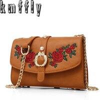 KMFFLY Women Bags Chain Flowers Bag Luxury Handbags Handbags Women Famous Brand Designer Bag Crossbody Messenger