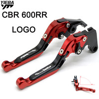CBR600RR FOR HONDA CBR600RR CBR 600RR CBR 600 RR 2007 2018 Motorcycle Accessories Adjustable Folding Brake Clutch Levers
