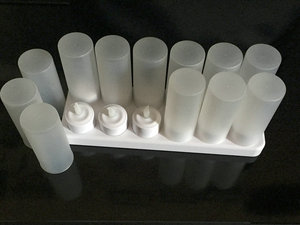 Image 2 - Set van 12 afstandsbediening LED kaarsen Flickering frosted Oplaadbare Thee Lichten/Elektronica Kaars lamp Kerst Bruiloft bar