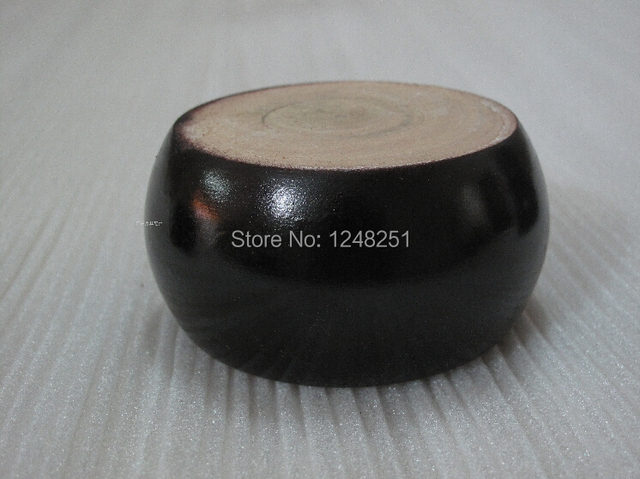 Height 2 5cm Round Type Solid Wood Furniture Leg Cabinet Tea Table Bed Chair Foot Sofa Feet Couch Legs 4pcs Black