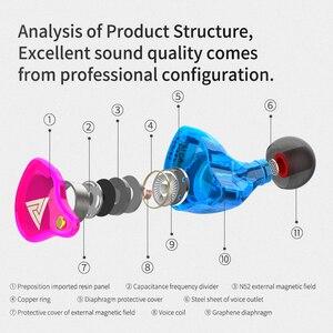Image 4 - Yeni QKZ VK4 ZST ağır bas kablolu kulaklık kulaklık HiFi kulaklık demir kontrol müzik hareketi değişim Bluetooth kablosu