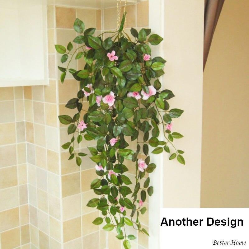 Artificiales Plantas Verdes Plantas Con Flores Con Cestas