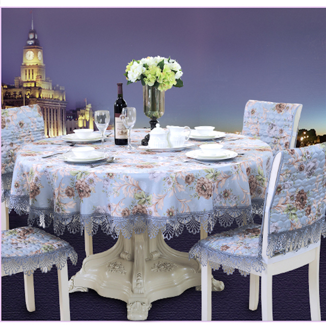 65   220cm X 65   230cm Table Cloth Square Rectangle Round Tablecloth TV  Cover Lace