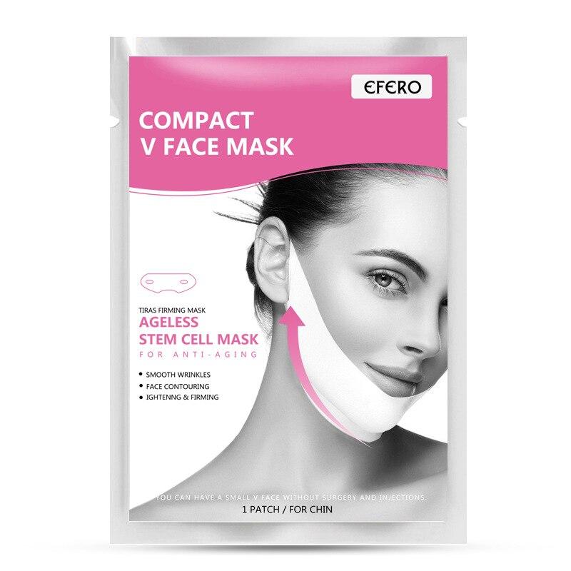 1 Pcs Gel Design Face Lifting Mask Thin V Shaper Slimming Lift Up Sleeping Reduce Double Chin Women Beauty Tools