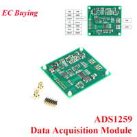 DC DC ADS1259 24 bit ADC Converter Module High Precision Data Acquisition Wide Power Supply Module Wide Input Differential