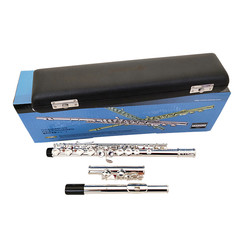 2018 New arrival flute YFL211SL Playing music instrument 16 Closed hole E key music C tune flute Copper Nickel Free shipping