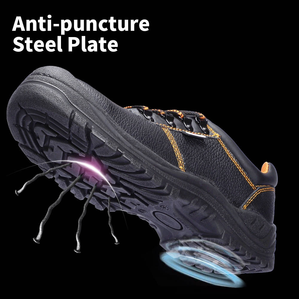 Men's Safety Shoes Steel Toe Working Safety Shoes For Men Fashion Hiking Sneaker Shock Proof Puncture Proof Non-Slip Footwear 3