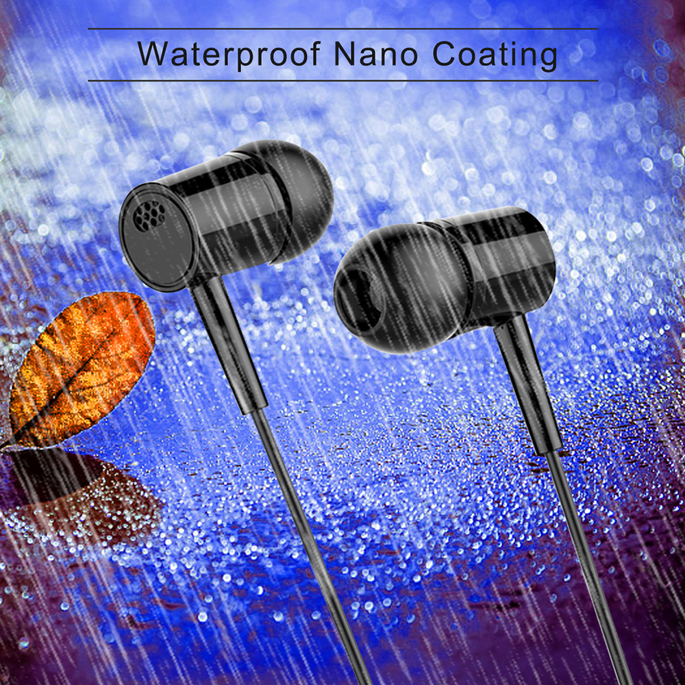 1pcs Optional 3.5MM Universal In-ear Wired Earphone With Mic Earbuds Headset For IPhone For Android Computer  Earphone