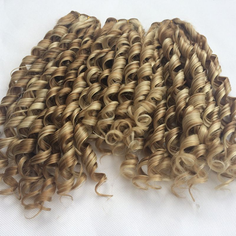 Heat resisting cheap curly font b synthetic b font weave curly weave font b hair b