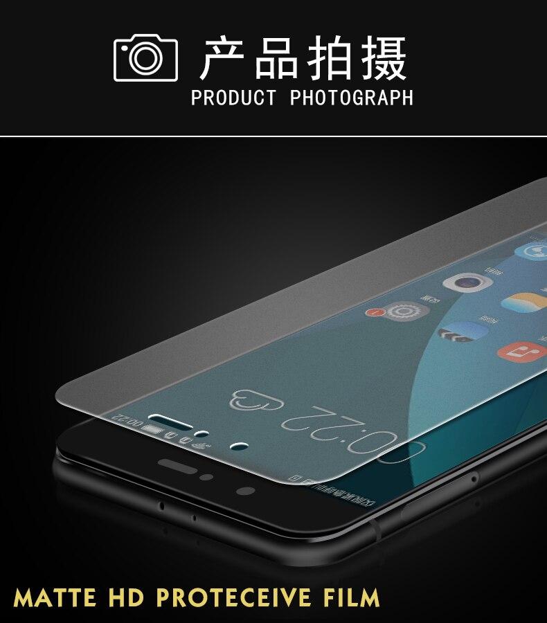 Matowy ochraniacz ekranu dla Huawei honor 9 lite szkło hartowane dla honor 9 lite 10 folia ochronna szkło na honor 9 lite IIRROONN 13