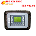 Universal SBB Key Programmer By Immobilizer For Multi-Brands SBB Silca V33.02 /V33 Auto Car Key Maker No Token DHL fast shipping