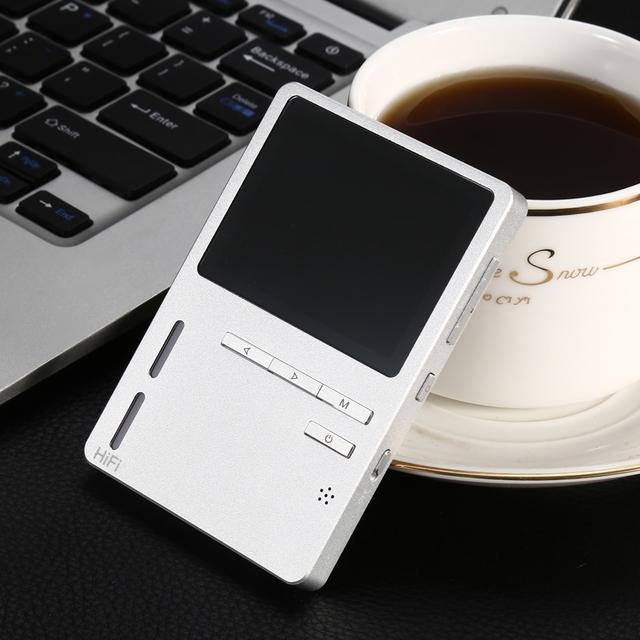 ONN X6 Grabadora de Radio Reproductor de Música Sin Pérdidas de Alta Fidelidad MP3 Lyric Display 8 GB de Almacenamiento de 2.3 pulgadas TFT de Pantalla